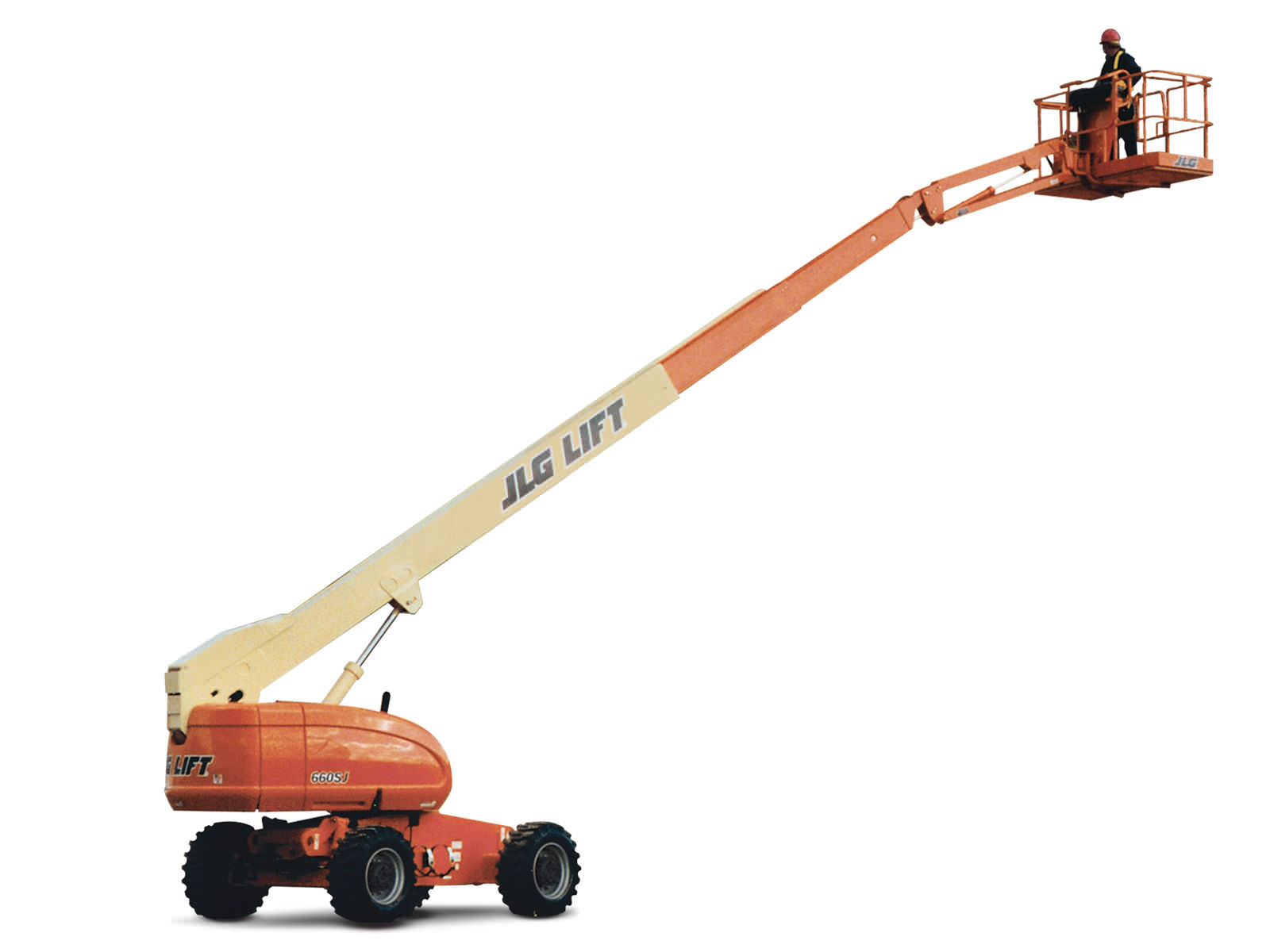 Diesel telescopic boom lift